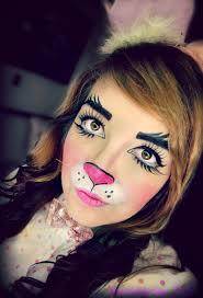 makeup ideas rabbit makeup bunny makeup by stardustbyzali on deviantart