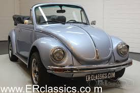Light Blue Beetle For Sale Volkswagen Beetle Cabriolet 1974 Light Blue Metallic For