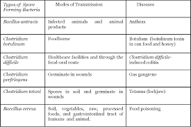 Table Ii From Comparison Of Sporicidal Activities Of