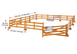 bruder farm fences 11 panels plus 1 gate