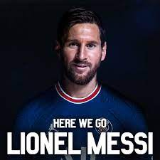 Lionel Messi joins PSG ...