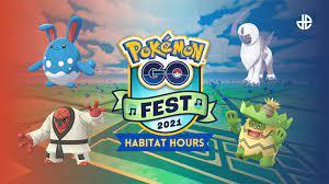 Pokemon Go Fest 2021 Habitat Hour ...