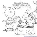 Small Picture Charlie Brown Thanksgiving Coloring Pages Bebo Pandco