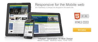 Responsive Website Template Stunning Responsive Website Templates Premium Downloads