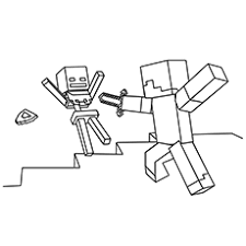 All printable minecraft coloring pages are blocky and pixelated, the same as the whole minecraft world. 37 Free Printable Minecraft Coloring Pages For Toddlers