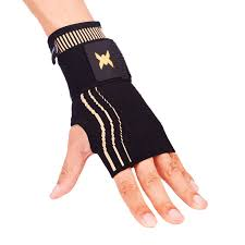 Thx4 Copper Wrist Sleeve With Adjustable Strap For Extra Support Copper Infused Compression Wrist Brace Relief For Carpal Tunnel Rsi Tendonitis