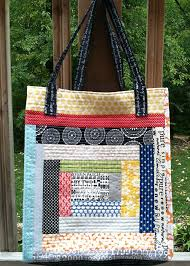 A Quilt as You Go Tote ~ Fresh Lemons Modern Quilts & Tote Adamdwight.com