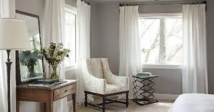 gray bedroom curtains. white curtains for gray walls my living space pinterest bedroom