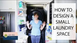 Brilliant small functional laundry room decoration ideas Washer Dryer How To Design Small Laundry Space Our Richmond Fixer Upper Youtube How To Design Small Laundry Space Our Richmond Fixer Upper Youtube