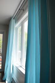 Aqua Blue Ikea Merete Curtain Hack The Vanderveen House