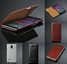 samsung galaxy note 4 ultra slim luxury leather
