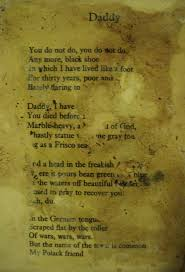 best poetry images sylvia plath poetry and writers sylvia plath poem daddy 1963