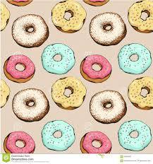 Donut Pattern Amazing Decoration