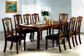 full size of 8 person dining room table set gl chairs merlot 9 piece formal gorgeous round dining room table sets
