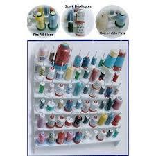 thread organizer and bobbin holder