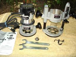 porter cable plunge router. porter cable 690 plunge router set w/ 2 bases in case 1001 6931 6902 e