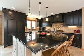 kitchen with dark cabinets living room kitchen open concept with light wood floor dark cabinetry google