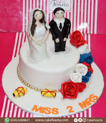 Couples Wedding Cake Marriage Anniversary Cakes In Lahore