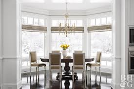 Window Treatments For Bay Windows In Dining Room