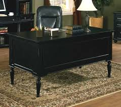 black executive desk office homeoffice deskssolid wood