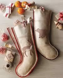 handmade christmas stockings martha stewart