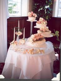 Beautiful Reception Decorations Wedding Cake Table Decorations Photo Beautiful Wedding Cake And