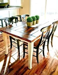 farmhouse style kitchen tables picnic table and chairs sets awesome farm diy