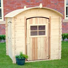 sentinel rebo bow top childrens outdoor wooden playhouse real wood log cabin den