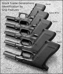 Vintage Outdoors Glock Generations Chart
