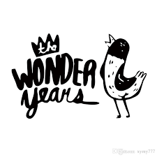 the wonder years band logo. Unique Logo 2018 New Product For The Wonder Years Band Car Styling Truck Decal Vinyl  Funny Sticker Jdm Window Accessories Graphics From Xymy777 131  DhgateCom In Logo W