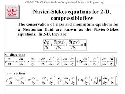 navier stokes equation jennarocca
