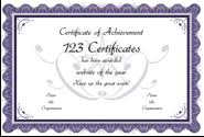 Online Certificates Free Printable Certificates And Award Templates