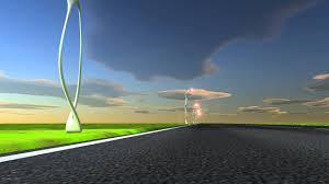 futuristic lighting. Futuristic Street Lights Lighting O