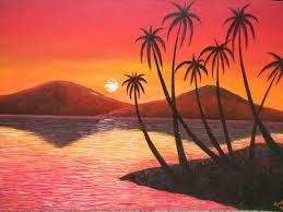 beginners ideas for beginners bathroom design sunset paintings landscape acrylic handprint soul landscape landscape painting ideas