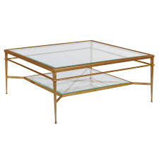 glass coffee table with ottoman under tables square ottomans 2 rou