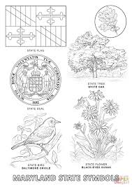 Small Picture Maryland State Symbols coloring page Free Printable Coloring Pages