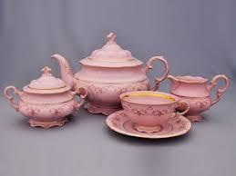 """<b>Сервиз чайный</b> 6/15; декор """"Мелкие розы, отводка <b>золото</b> ..."""