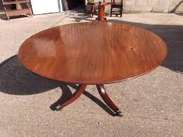 large antique round table regency period circular mahogany dining table of 5ft diameter to seat 8 people comfortably