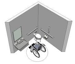 pre built revit accessible toilet room sample model
