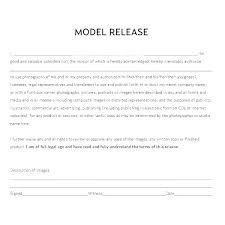 Copyright Release Form Template Photography Services Photo