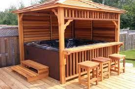 10 hot tub gazebo ideas hot tub