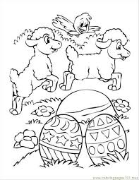 Small Picture Easter Eggs Sheep Chick Coloring Page Free Chick Coloring Pages