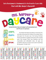 Daycare Flyers Examples Free Daycare Flyers Follow Lauren Ashley