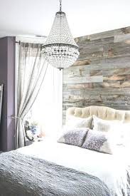 modern bedroom chandelier modern bedroom with reclaimed wood accent wall and chandelier ideas modern master bedroom