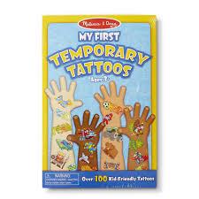 татуировки для детей Melissa Doug