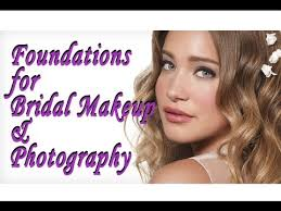 foundations for bridal makeup photography