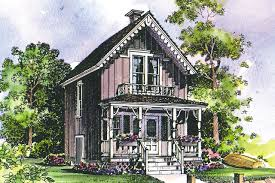 victorian house plan pearl 42 010 front eelvation
