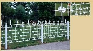 decorative metal fence panels. Garden Metal Panels Affordable Metals Inc Corrugated Decorative Fence With