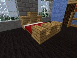 minecraft bed and bedroom furniture ideas
