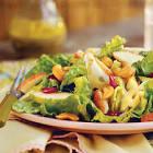 apple pear salad with lemon poppy seed dressing